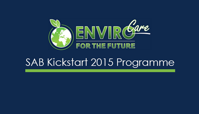 SAB Kickstart 2015 Programme
