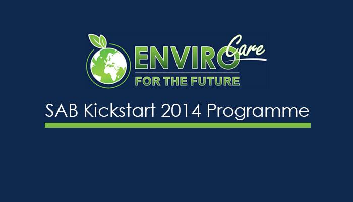 SAB Kickstart 2014 Programme